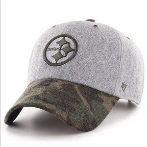 Pittsburgh Steelers '47 Wool Kitchener Camo Cap